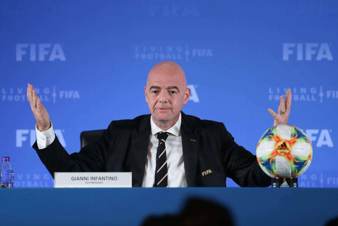 2022 World Cup will be played in packed stadiums: Infantino