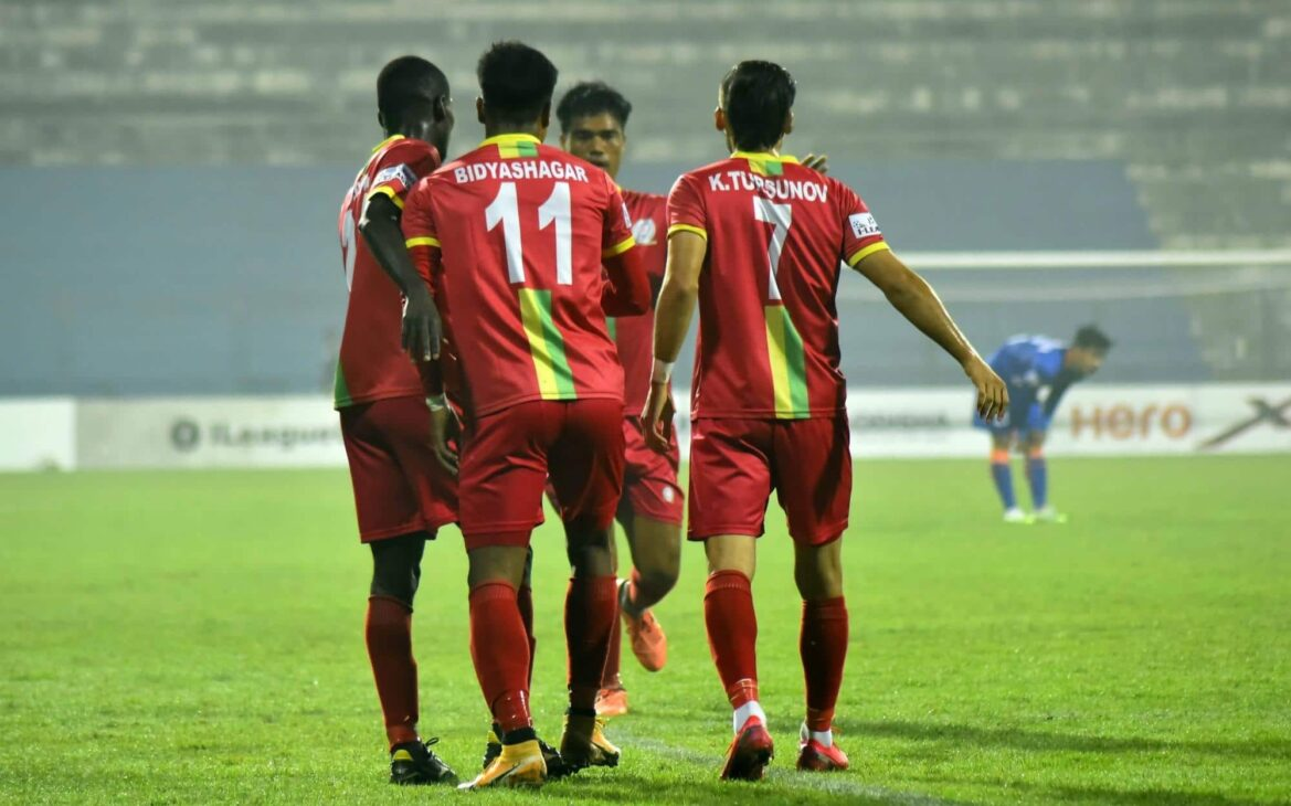 I-League: TRAU return to top six after beating Indian Arrows