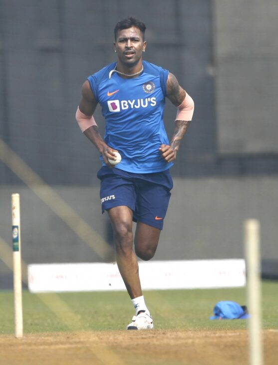 Pandya, Pant train as Indians chill out after victory