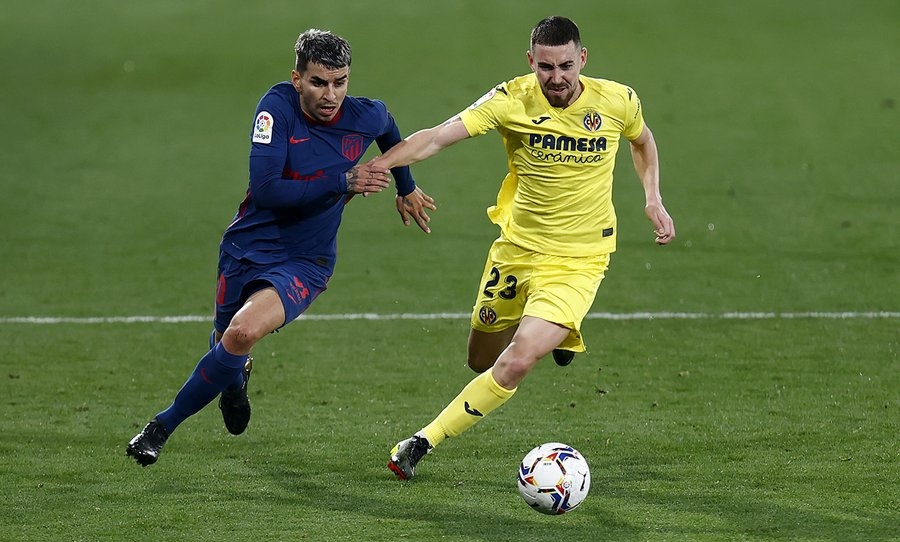 Atletico extend lead with 2-0 win against Villareal