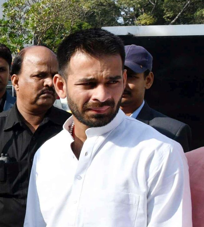 Patna HC issues notice to Tej Pratap