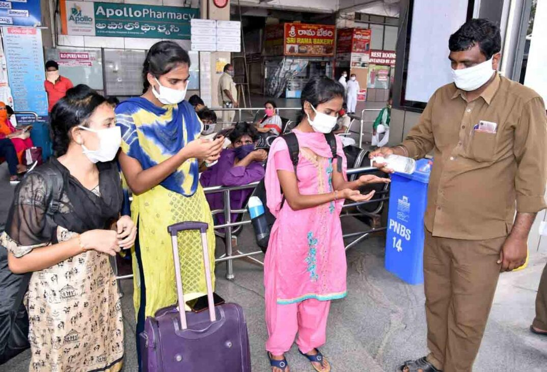 Andhra's active Covid cases race past 14K mark