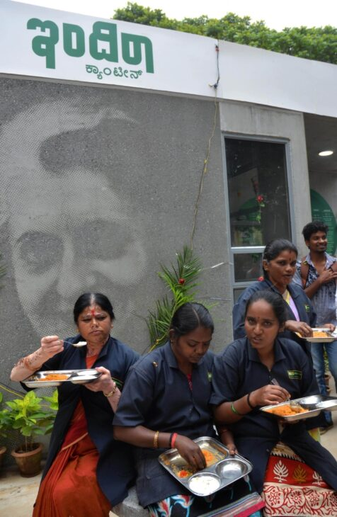 Free food to poor from Indira canteens in Bengaluru during lockdown