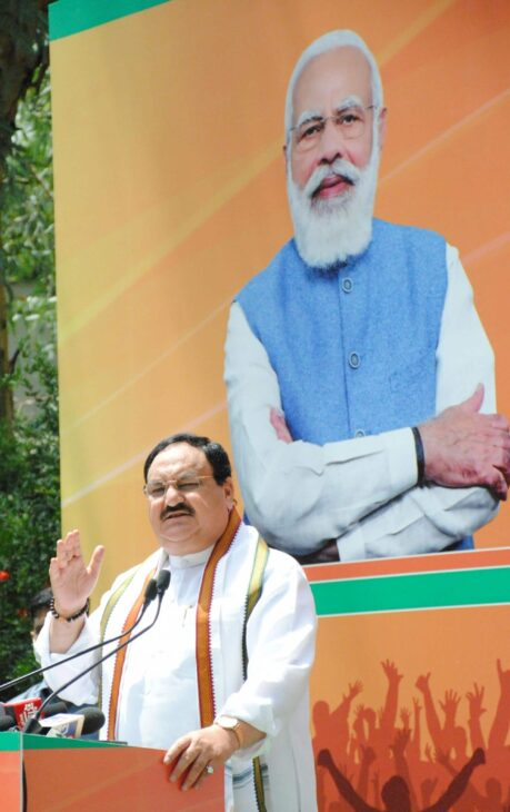 While criticising PM and BJP, Cong insulting nation: Nadda