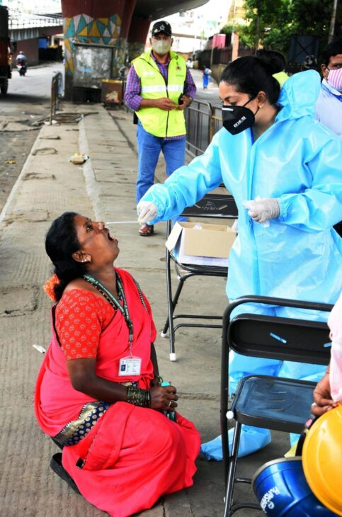 Andhra reports 8K new Covid cases, tally over 17.9 lakh