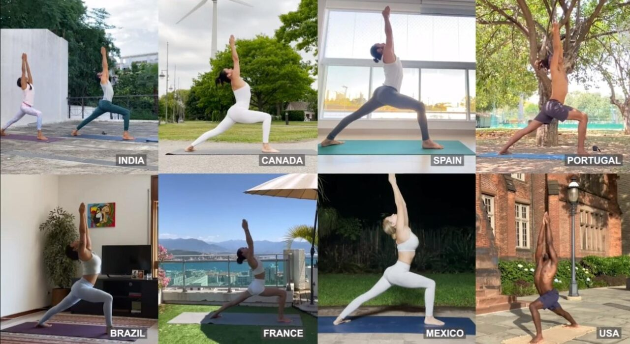 UN leaders emphasise yoga's role in helping world recover from pandemic