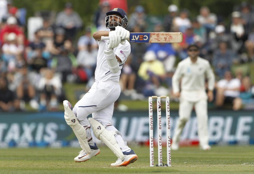 Rahane bats with grit but fails to get big score again