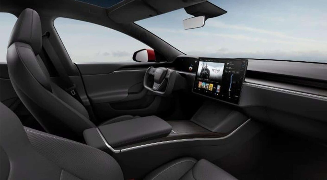 Tesla Model S Plaid has PS5 levels of gaming performance: Musk