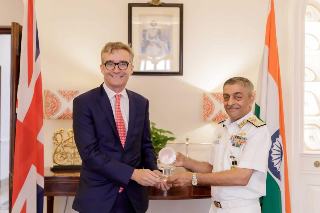 India's chief hydrographer receives Alexander Dalrymple award