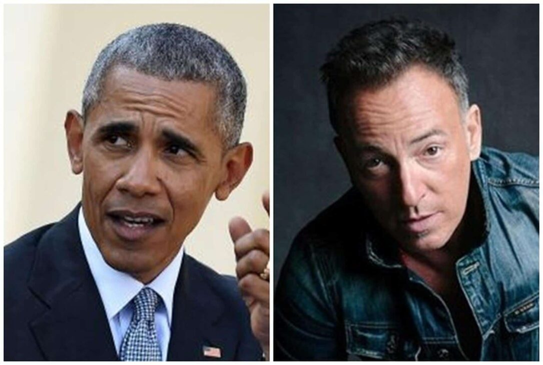 Barack Obama, Bruce Springsteen to share 'American stories' in new book