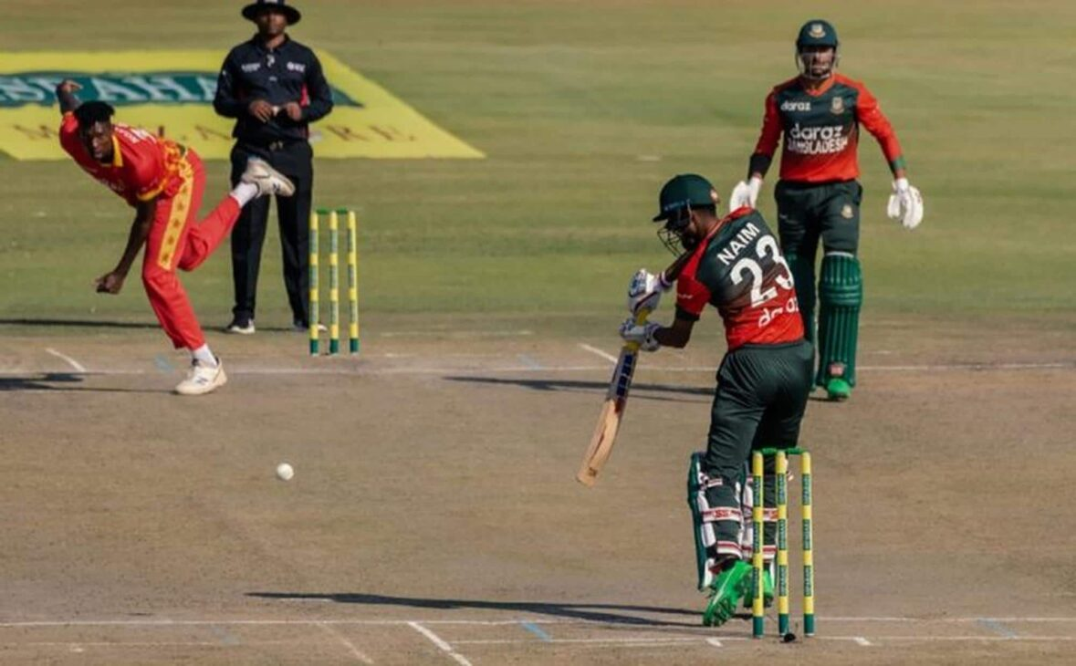 Bangladesh go 1-0 up against Zimbabwe with eight-wicket win