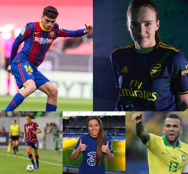 Six footballers (men and women) to cheer for at the 2020 Olympics