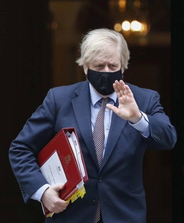 Boris Johnson announces withdrawal of UK troops from Afghanistan