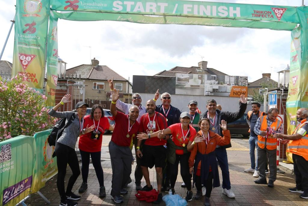 Tricon Trifecta held by Temple in Kenton, Harrow to raise a whopping £50,000 for charity