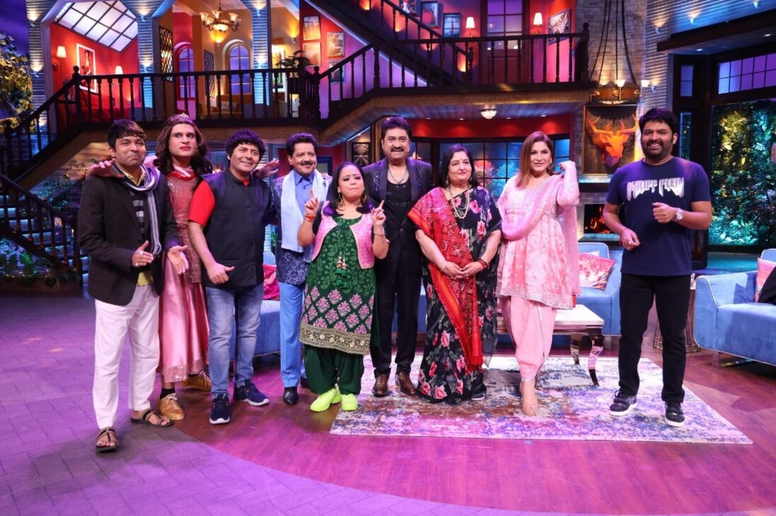 'Bhoot Police' cast and top singers join Kapil Sharma this weekend