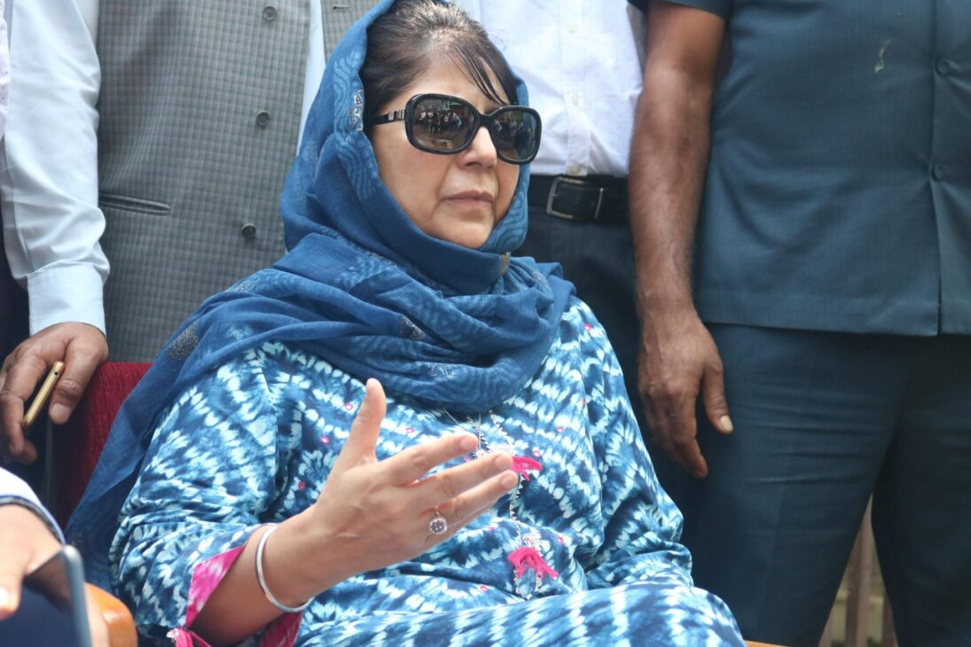 My statement on Taliban deliberately distorted: Mehbooba